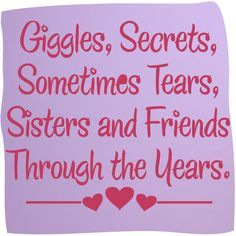 34 Best Sisters images images in 2019 | Messages, Sisters, Friendship