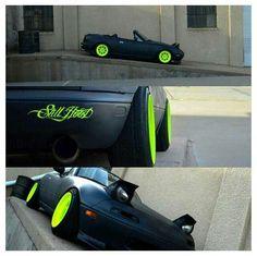 Slammed Mazda / Miata / Eunos - NA / (cabriolet / convertible / sports car) Tuner Cars, Jdm Cars, Rat Rods, Slammed Cars, Jeep, Diesel, Mazda Miata, Japan Cars, Muscle