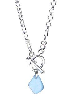 Toggle Sea Glass Necklace