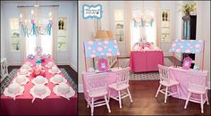 Tea party ideas. See more at www.karaspartyideas.com