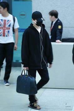 Suga❤ BTS At Incheon Airport! (PRESS 170508) #BTS #방탄소년단