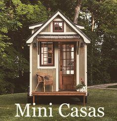 MINI CASAS: EL ARTE DE VIVIR EN LAS CASAS MÁS PEQUEÑAS DEL MUNDO. 🌎http://www.planetadeco.com/casas-ecologicas/mini-casas/