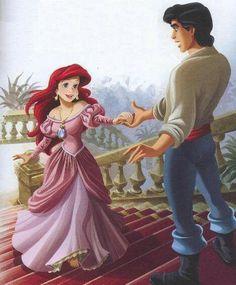 Princesas Disney: ARIEL discovered by ✩ℬℯlaℳinniℯ✩ Walt Disney, Disney Amor, Disney Couples, Disney Girls, Princesa Ariel Disney, Disney Princess Ariel, Mermaid Princess, Princess Belle, Disney Little Mermaids