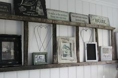 old ladders for decor | Old Ladders Repurposed As Home Decor... Like ... | HOME.iswheremy.HEA ...