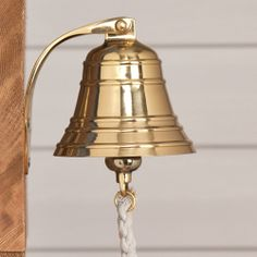 Solid Brass Ship's Bell. $49.95. Need for the back door.