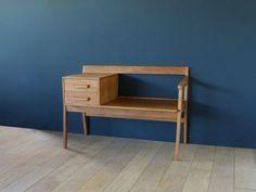 Console Vintage, Commode Design, Chaise Vintage, Vintage Design, Teak, Nightstand, Furniture, Home Decor, Vintage Dressing Rooms
