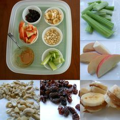 Healthy snacks for kids... grazing tray - http://amomwithalessonplan.com/healthy-snacks-for-kids/