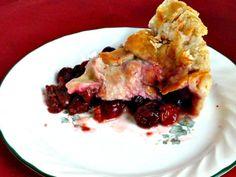 Door County Cherry Cranberry Rum Pie