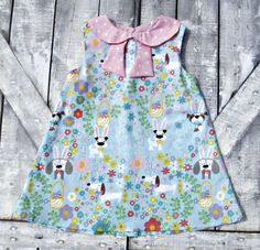 Custom Girl Easter Dress Baby Girl Easter Dress by TootandPuddle