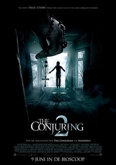 The Conjuring 2 sees the return of the paranormal investigators, Ed and Lorraine Warren. It is the sequel to the 2013 Horror The Conjuring. Lorraine Warren, Hindi Movies, Tamil Movies, Horror Movie Posters, Horror Movies, Film Pour Halloween, The Conjuring, Scary Movies, Good Movies