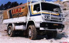 Skoda-LIAZ 100,55 Dakar 1985 Csehszlovákia.