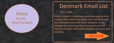 DENMARK EMAIL LIST | Ceo Email List