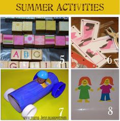 28 Activities and Crafts for the Kids--Toys You Can Make