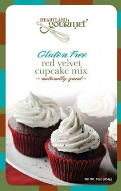 Gluten Free Red Velvet Cupcake Mix: What a great way to celebrate! Our Gluten Free Red Velvet Cupcakes are deliciously moist and easy to make. Comes with a delicious cream cheese icing recipe. Mix makes approx. 12 large or 24 mini cupcakes. Gluten Free Red Velvet Cupcakes Recipe, Cupcake Recipes Uk, Vegan Wedding Cake, Cool Wedding Cakes, Wedding Cupcakes, Cupcake Mix, Mini Cupcakes, Red Velvet Cake Mix, Gluten Free Bakery