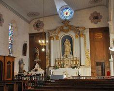 Eglise Sainte-Catherine  à la Flotte-en-Ré, autel de la Vierge