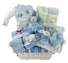 Everything in this Baby Boy Gift Basket has been chosen for its softness and luxurious textures. Your baby will be able to cuddle with every item in this basket! Muslin Swaddle Blanket, Cotton Blankets, Receiving Blankets, Baby Boy Gift Baskets, Baby Boy Gifts, Cute Embroidery, Cute Plush, Royal Babies, Baby Warmer