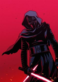 Kylo Ren by Koi Carreon fanart from Star Wars Episode VII The Force Awakens Star Wars Vii, Star Wars Kylo Ren, Star Wars Fan Art, Kylo Ren Wallpaper, Star Wars Wallpaper, Kurama Naruto, Star Wars Images, Episode Vii, Star Wars Gifts