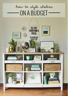お部屋に栄えるおすすめの棚の選び方!そして用途別、棚の飾り方をご紹介! | folk