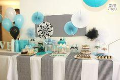 Party in a box - שולחן אוקיינוס אלגנטי למסיבת רווקות