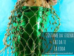 Come fare un costume da sirena: la coda- parte terza Tutorial, Dreadlocks, Costumes, Pane, Origami, Masks, Beauty, Style, Smart Cookie