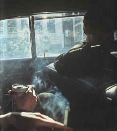 Nan Goldin, Smokey Car, New Hampshire, 1979