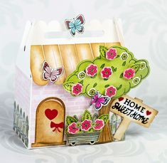 Create fun and fabulous gift boxes using our versatile 3D Box Dies, perfect for edible gifts and treats, wedding and party favours and so much more! Project by: Joanne Jamieson Larkin Crafters Companion Cards, Party Favors, Favours, Edible Gifts, Embossing Folder, Lunch Box, Paper Crafts, Gift Boxes, Create