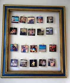 everything pretty: DIY Instagram Photo Frame