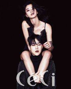 Hello Venus' Nara & JBJ's Kwon Hyun Bin Model For CeCi   Daily K Pop News
