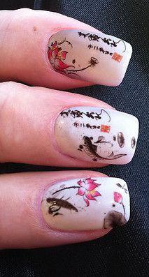 Spring Cherry Blossom Nails nailart