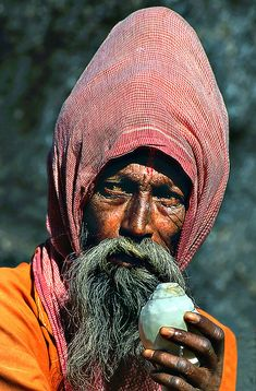 ♂ Exotic Old Man Portrait Indian