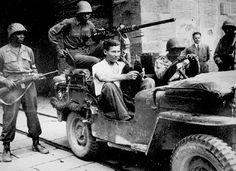 Black American Soldiers In World War II