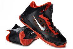 outlet store adb4b 7957a Hyperchaos 2012 Black Gym Red Metallic Silver 535272 006 Nike Lebron, Black  Shoes, Nba