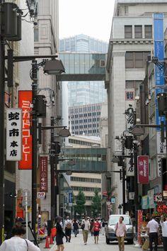 a street ,Nihonbashi