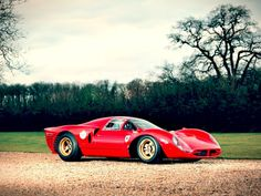 From the listing for this Ferrari Race Car for sale: 1965. Born as a 275 P2 Spyder and destined to be a SEFAC (Ferrari Factory Team) car. 10 April 1965. Le Mans Test. See Emotion Ferrari by Maurice Louche p.353. 25 April 1965.Monza 1000 kms, John Surtees/Ludovico Scarfiotti, #60. 2nd OA. Received Ferrari Factory upgrade…