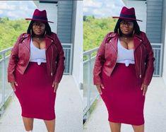 Curvy Girl Outfits, Curvy Women Fashion, Cute Outfits, Big Size Fashion, Plus Size Fashion For Women, Plus Size Fall Outfit, Plus Size Outfits, Modest Dresses, Swagg