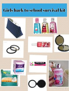 Back to school locker kit for girls