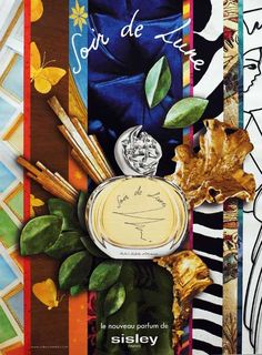 Advert of the fragrance Soir de Lune(2006) by Sisley