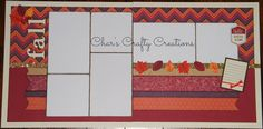 CTMH Sangria layout by Char's Crafty Creations