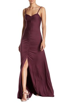Rachel Pally Chrissy Ruched Maxi L Currant Dress. Free shipping and guaranteed authenticity on Rachel Pally Chrissy Ruched Maxi L Currant DressDetails - V-neck - Spaghetti straps - Slips on ...