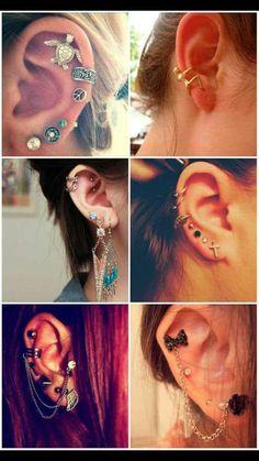 Love these piercings!!