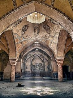 ♥ Hammam Vakil (Bathroom) - Shiraz, IRAN - Mojtaba Khorsandi [paisley accents.  they're there if you look for it!]