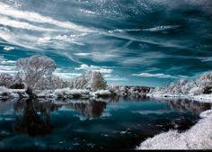 Winter Wonderland: snowy winter scenes of Christmas time.