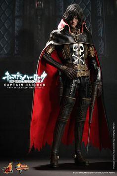 Hot Toys 1/6 MMS222 Space Pirate Captain Harlock: Captain Harlock IN STOCK