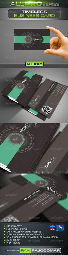 30 free modern business card templates pinterest business cards timeless business card template reheart Image collections