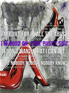 My favorite verse from Gangsta by Kehlani ❤ #harleyquinn