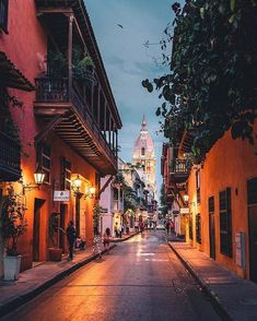 The streets of Cartagena, Colombia 😍 . MOSAICARCHSTAFF architecture building architexture city buildings skysceaper urban design cities archi town street art architecturelovers abstract lines render vray vrayworld vrayrender renderbox archg rendering Beautiful Places To Travel, Cool Places To Visit, Places To Go, Adventure Travel, Adventure Time, Sailing Trips, Colombia Travel, Travel Aesthetic, South America