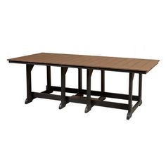 Little Cottage Company Heritage Dining Table Finish: Weathered Wood