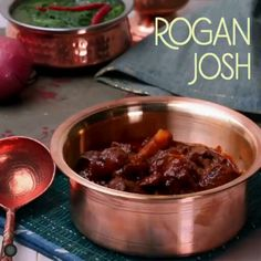 Rogan Josh Recipe: Rogan Josh is a popular dish of Kashmiri origin. Learn how to make Kashmiri rogan josh with step by step pictures and a video recipe with all ingredients and cooking method for Rogan Josh from Yummefy Recipes. Curry Recipes, Meat Recipes, Vegetarian Recipes, Snack Recipes, Cooking Recipes, Healthy Recipes, Maggi Recipes, Chicken Recipes, Dessert Recipes