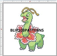 All Generation 2 Pokemon Cross Stitch Patterns on one CDROM. All patterns measure 6 inches by 6 inches(monster sizes are in scale so smaller monsters mean more white background). These patterns were done with 16 count Aida cloth in mind so pattern will be slightly larger if you use it on lower co...