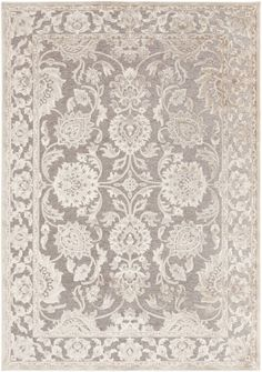 RugStudio presents Surya Basilica BSL-7211 Gray Machine Woven, Good Quality Area Rug